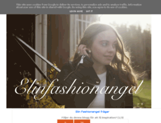 elinfashionangel.blogspot.se screenshot