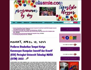 elissmie.com screenshot