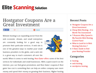 elite-scanning-solutions.com screenshot