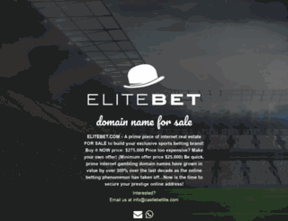 elitebet.com screenshot