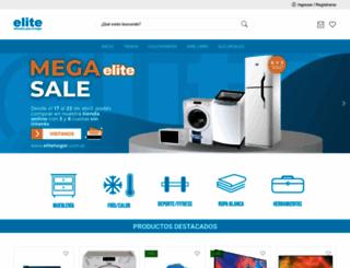 elitehogar.com.ar screenshot