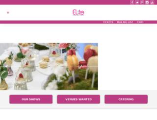 elitelondonevents.com screenshot
