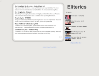 eliterics.com screenshot