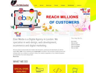 elixirmedia.co.uk screenshot
