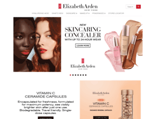 elizabetharden.co.za screenshot