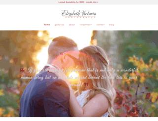 elizabethvictoria.com screenshot