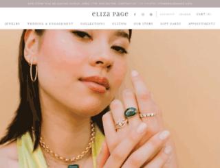 elizapage.com screenshot