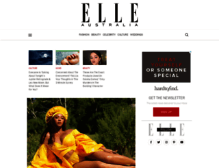 elle.com.au screenshot