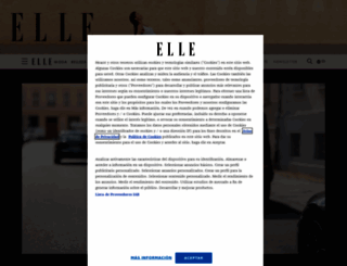 elle.es screenshot