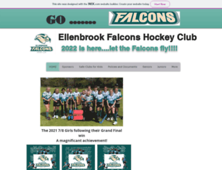 ellenbrookhockey.org screenshot