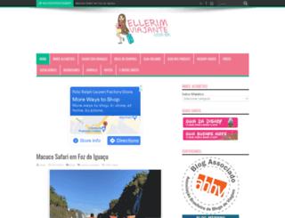 ellerimviajante.com.br screenshot