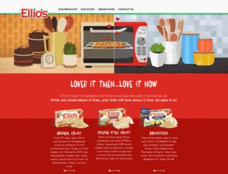 ellios.com screenshot