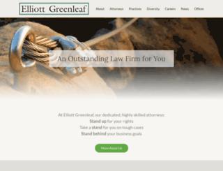 elliottgreenleaf.com screenshot