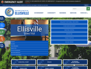 ellisville.mo.us screenshot