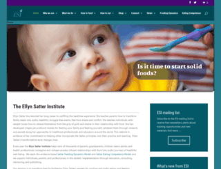 ellynsatterinstitute.org screenshot