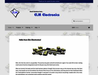 elmelectronics.com screenshot