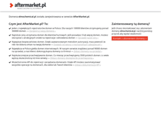elmochemical.pl screenshot