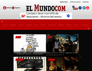 elmundo.com screenshot