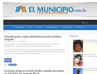 elmunicipio.com.do screenshot