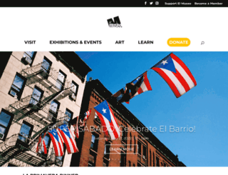 elmuseo.org screenshot