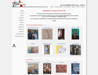 elmuseovirtual.com screenshot