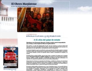 elobreromarplatense.blogspot.com.ar screenshot