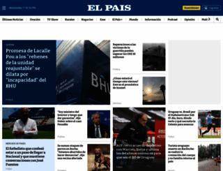 elpais.com.uy screenshot