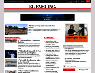elpasoinc.com screenshot