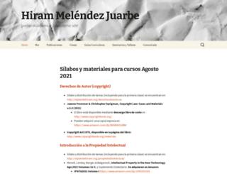 elplandehiram.org screenshot