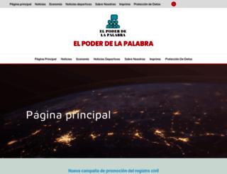 elpoderdelapalabra.com.mx screenshot