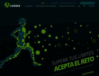elretodecorrer.com screenshot