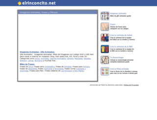 elrinconcito.net screenshot