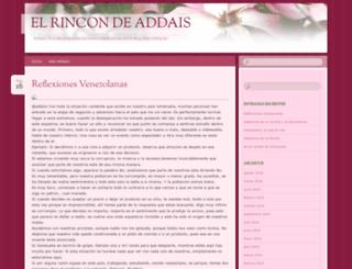 elrincondeaddais.wordpress.com screenshot