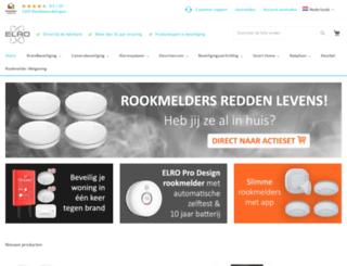 elro-nl.com screenshot
