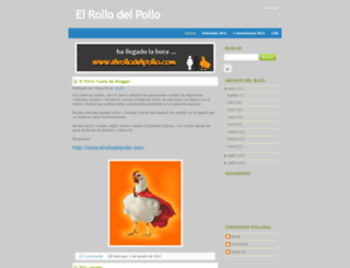 elrollodelpollo.blogspot.com.es screenshot