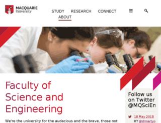 els.mq.edu.au screenshot