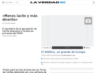 elseonauta.laverdad.es screenshot