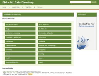 elskemccain.net screenshot