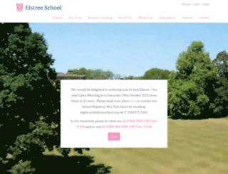 elstreeschool.org.uk screenshot