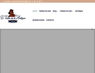 eltallerdeloantiguo.com screenshot