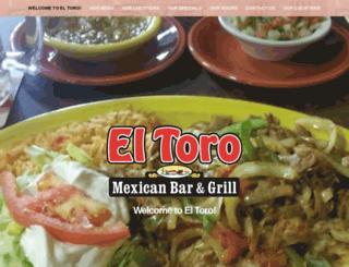 eltorobarandgrill.com screenshot