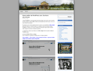 eltrasterodepalacio.wordpress.com screenshot