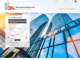 eltresporciento.com screenshot