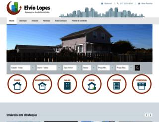 elviolopesimoveis.com.br screenshot