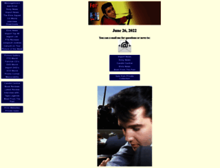 elvis-collectors.com screenshot