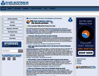 elvis.com.au screenshot
