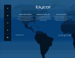 elycor.org screenshot