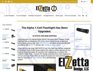 elzetta.com screenshot