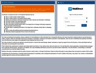 em.maildirect.co.in screenshot