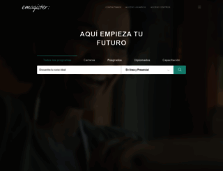 emagister.com.mx screenshot